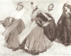 Campesinas de Flandes,1905