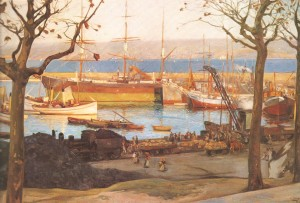 Puerto de La Coruña,1910