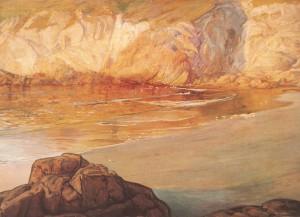 La gruta de las gaviotas,1910